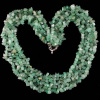 Jade Beaded Collar Toggle Necklace