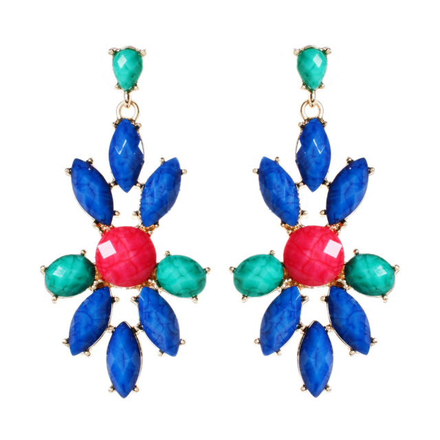 Amrita Singh Lapis Blue East End Chandelier Earrings